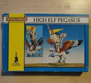 High Elf Pegasus Boxed Warhammer Fantasy Metal OOP New Vintage Classic