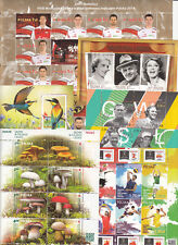 Poland 2014 MNH Complete Year set 47 stamps + 16 Souvenir sheets