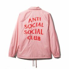 Anti Social Social Club I'M READY COACH JACKET Sz XS