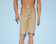Tan Light Brown Khaki Caramel KEN Shorts Pants Genuine BARBIE Fashion