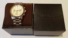 Michael Kors Gold Plated Runway Medium Chronograph Watch MK5055