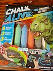 Chalk Alive! 4-D Interactive Chalk Art Comes Alive with Phone App Dinosaur NEW