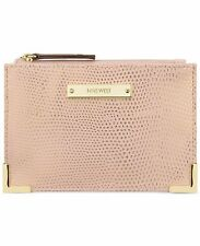 $25 Nine West Scale Up Peach Rose Pink Card Case Wallet