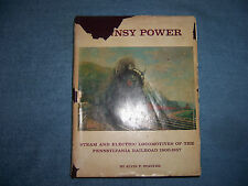PENNSY POWER by Alvin Staufer/1st Ed/HCDJ/Travel/Railroads