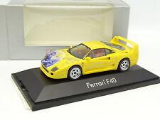 Herpa 1/43 - Ferrari F40 Jaune Christmas 2000
