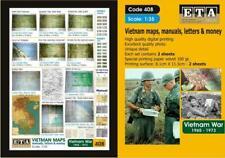 Vietman maps Suit scales 1/35 ideal diorama accessories
