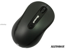 New Genuine 100% Microsoft 4000 2.4GHZ Wireless Mouse Blue Track MAC--Black
