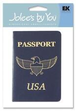 Jolie's by You EK Success Embellishment - Passport Travel