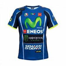 Valentino Rossi VR46 2018 Moto GP Sponsor Replica Yamaha T Shirt - Mens
