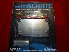 Kisan Vectralight LPB-16 License Plate LED Chrome