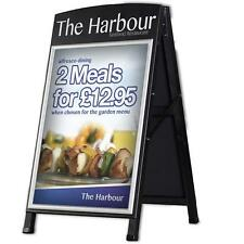 A1 Premium Wood A-Board |  Wooden A-Board Pavement Signs