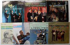 LIMELITERS, GLENN YARBROUGH 60's FOLK LPs LOT OF 7 #521