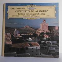 "33T Narciso YEPES LP 12"" CONCIERTO ARANJUEZ Joaquin RODRIGO - GRAMMOPHON 139440"