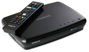 Humax FVP-5000T 500GB HDD Freeview Play Smart TV Recorder with HD Tuners - Black