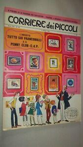 CORRIERE DEI PICCOLI N. 40 1966 - FIGURINE PADOVA NOVARA VICENZA