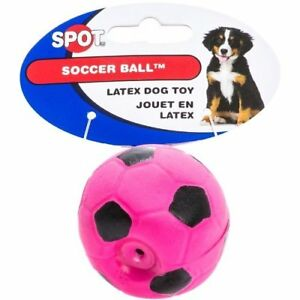 6 Pack Latex Soccer Ball, Assorted Colors, Toys for Small Dogs and Puppies...