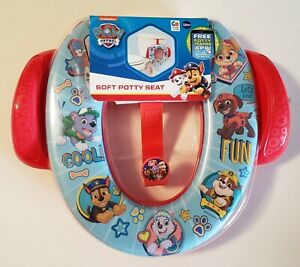 Nick Jr. Paw Patrol Soft Potty Seat - Potty Hook Included Ages 18 months+ New
