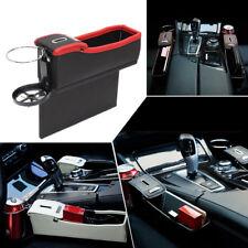 Car Front passenger Seat Catcher Gap Filler Storage Collector Box Cup Holder SUV