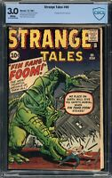 Strange Tales #89 CBCS 3.0 White Pages 1st Appearance Fin Fang Foom like CGC