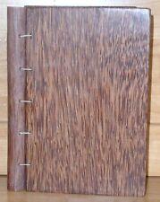 Journal Diary Coconut Hair Paper Hardwood Cover Fiji Islands BRAND NEW!!