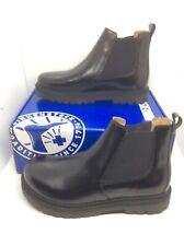 BIRKENSTOCK Womens Stalon Black Leather Chelsea Boots Shoes Sz 8 EU39 ZB6-1288