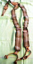 Vintage 1940's Police Braces Suspenders