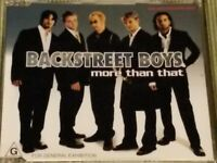 BACKSTREET BOYS MORE THAN THAT 4 TRACK IMPORT REMIX CD FREE SHIPPING
