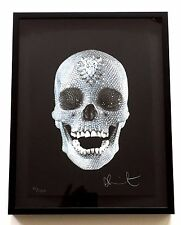 """DAMIEN HIRST """"FOR THE LOVE OF GOD"""" 2007  SIGNED SILKSCREEN EXCELLENT"""