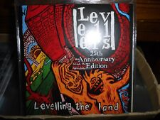 Levellers 2016 PROMO 2x CD +DVD REISSUE Levelling The Land 25th Anniversary Ed.