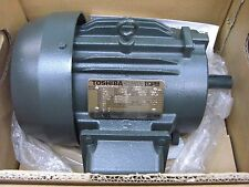 New Toshiba 5HP, 1800 RPM, 460 V, 184T, TEFC B0054FLF1BYHD Electric Motor