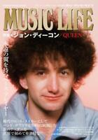 Music Life Queen John Deacon Special Bass Japan Magazine Book 2019 Japanese