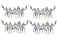 20 Star Wars Clone Wars Republic Trooper Gun Ship Pilot Removable Helmet Figure