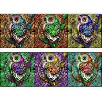 Full Drill Lovely Owl 5D DIY Diamond Painting Embroidery Cross Stitch Home Decor