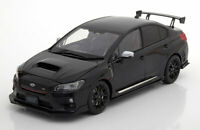 SUBARU S207 NBR CHALLENGE BLACK RARE EXAMPLE AND DETAIL DIECAST MODEL 1:18 SCALE