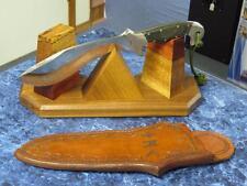 "Custom Handmade Tactical Knife ""Horrocks"" by Rusty Russom & Jay Fisher – WOW!"
