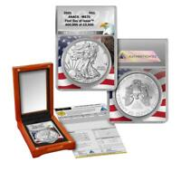 2021 American Silver Eagle ANAC MS 70  First Day of Issue Limited Edition