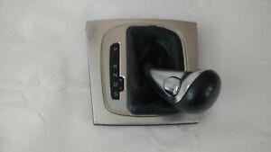 2005 - 2011 AUDI A3 OEM SHIFT KNOB , BOOT  , SELECTOR TRIM - Aluminum