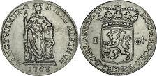 Netherlands - Zeeland: Gulden silver 1763 - F-VF