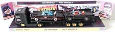 CORGI JUNIORS & HOT WHEELS Batman BATMOBILE & Flatbed Truck on Custom Display