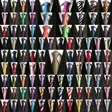 Lot 10 PCS  Classic Men's 100% Silk Tie Necktie Woven JACQUARD Neck Ties Factory