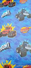 Blaze Monster Machines Wrapping Paper Gift Book Cover Party Wrap Birthday 2 PCS