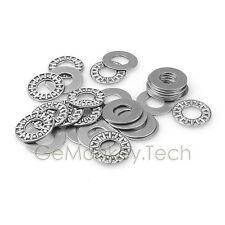 10 PCS 12x26x2mm Thrust Needle Roller Bearing & Two Washers AXK1226+2AS