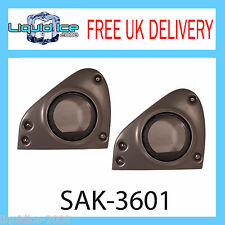 SAK-3601 SMART FOR TWO 165MM FRONT DOOR SPEAKER FITTING ADAPTORS 2004 - 2007