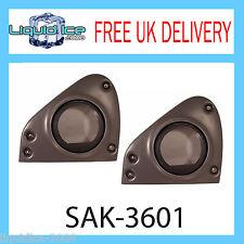 SAK-3601 SMART FOR TWO 165MM FRONT DOOR SPEAKER FITTING ADAPTORS 2004 - 2007