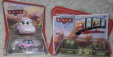 LOT 2 DISNEY CARS ITEMS CHUKI DIECAST & SARGE & LIGHTNING MCQUEEN MINI BOOT CAMP