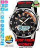 CASIO WATCH FISHING WATCH TIDE GRAPH AMW-710-1AV AMW710 12 MONTH WARRANTY
