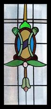 Beautiful Edwardian Antique English Stained Glass Window