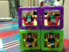 Free shipping Magspace 4 Pcs dolls -Can used for magformers set