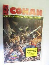 """Super Conan Spécial Numéro 3 """"Les Rois du feu et de la nuit"""" (Moench & Silvestri"""
