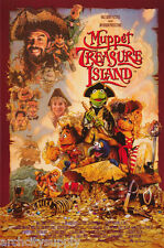 POSTER: MOVIE REPRO:THE MUPPETS MOVIE - TREASURE ISLAND -FREE SHIP  #1326 RC39 K